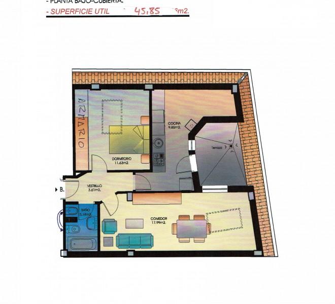 Escalera1-Bajo cubierta B
