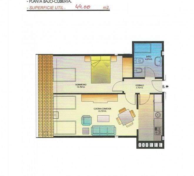 Escalera2-Bajo cubierta B